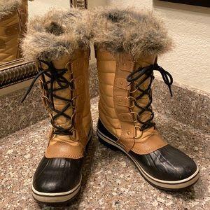 Sorel Tofino 2 lace up boots faux fur 1690441373